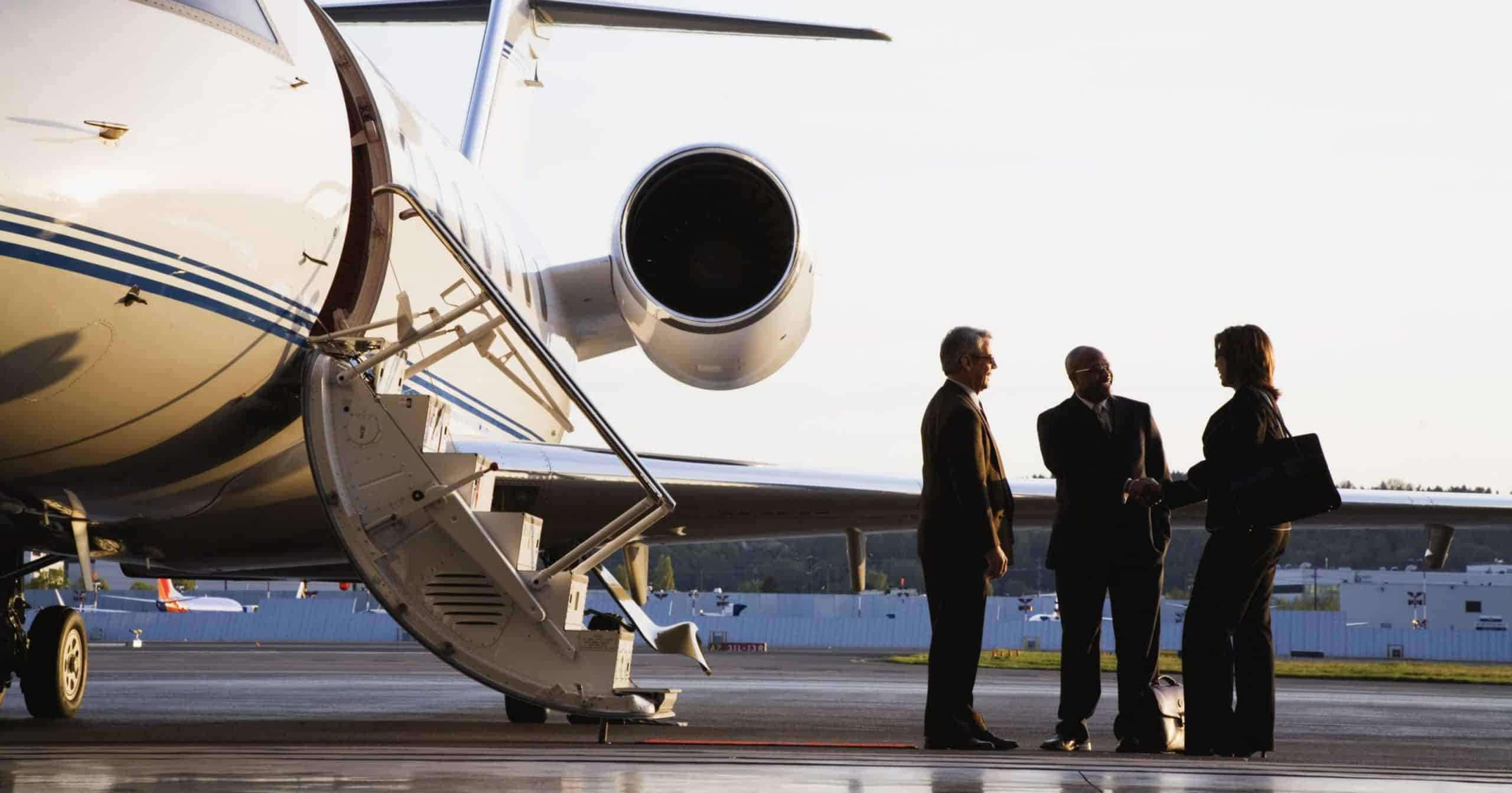 Private Jet at the Executive Airport