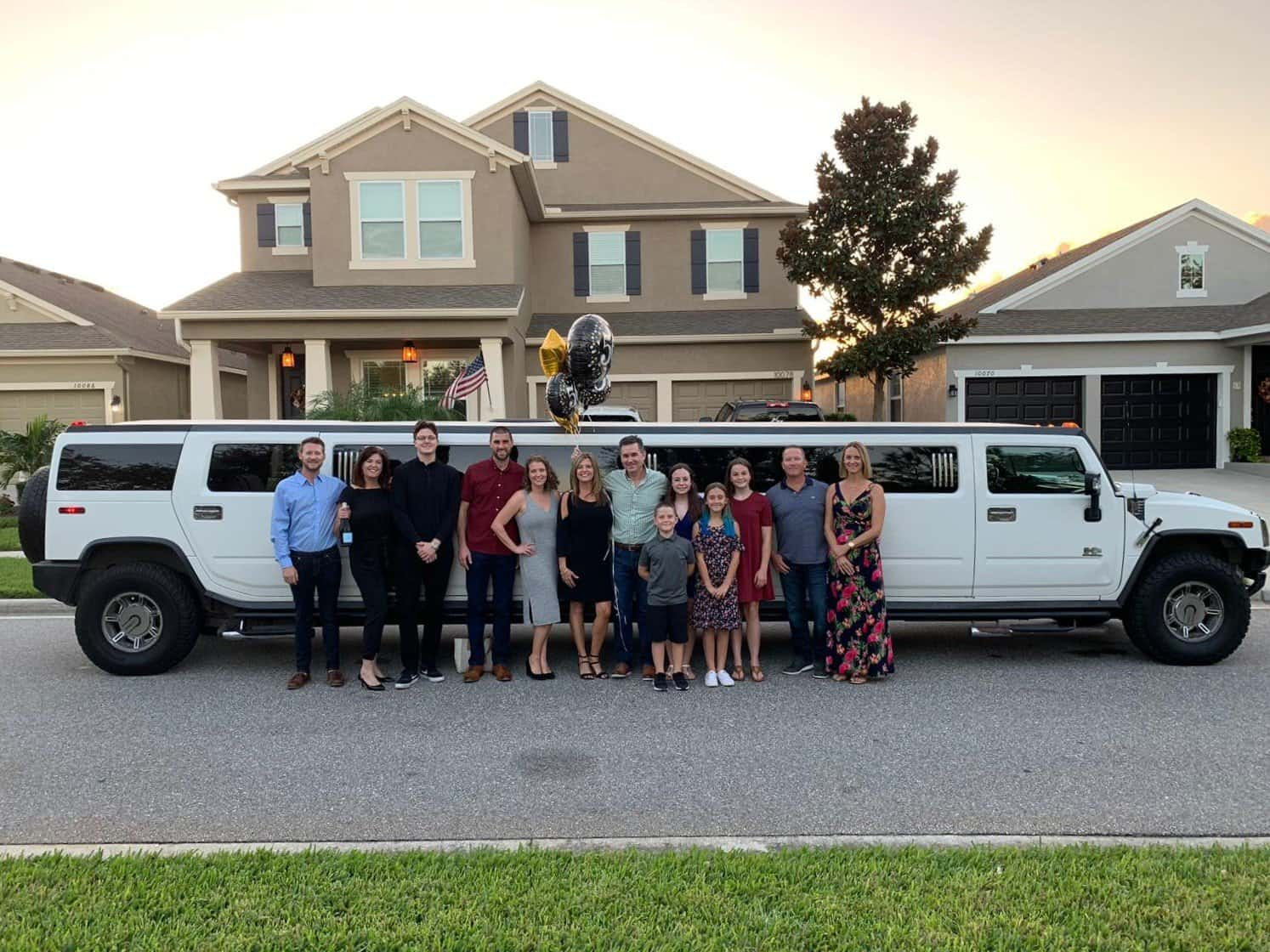 Orlando Limousine Service - Family 50th Birthday Celebration