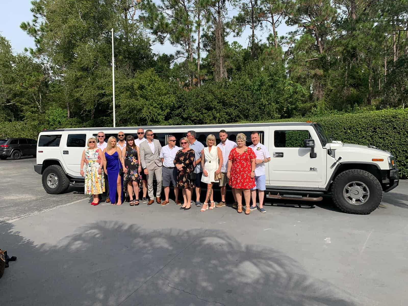 Dinner and Night out in a Hummer Limo