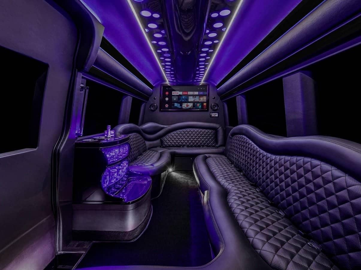 Orlando Prom Limo - Escalade Interior