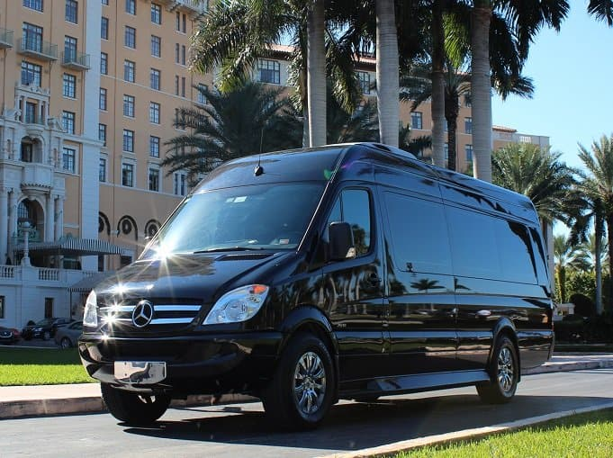 Sprinter Van at Biltmore Hotel