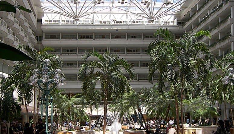 Orlando International Airport Lobby