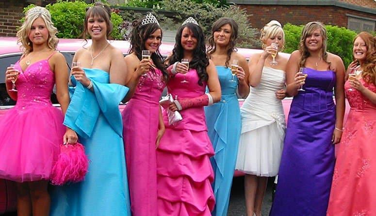 Orlando Prom Limousine Girls