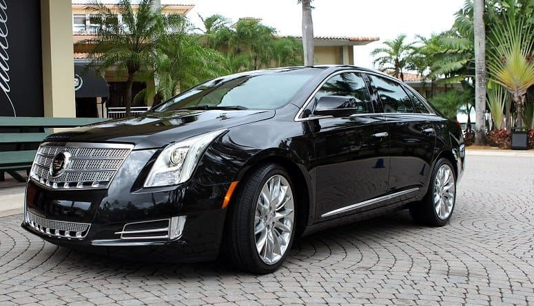 Cadillac XTS Sedan for Sanford Airport Transportation