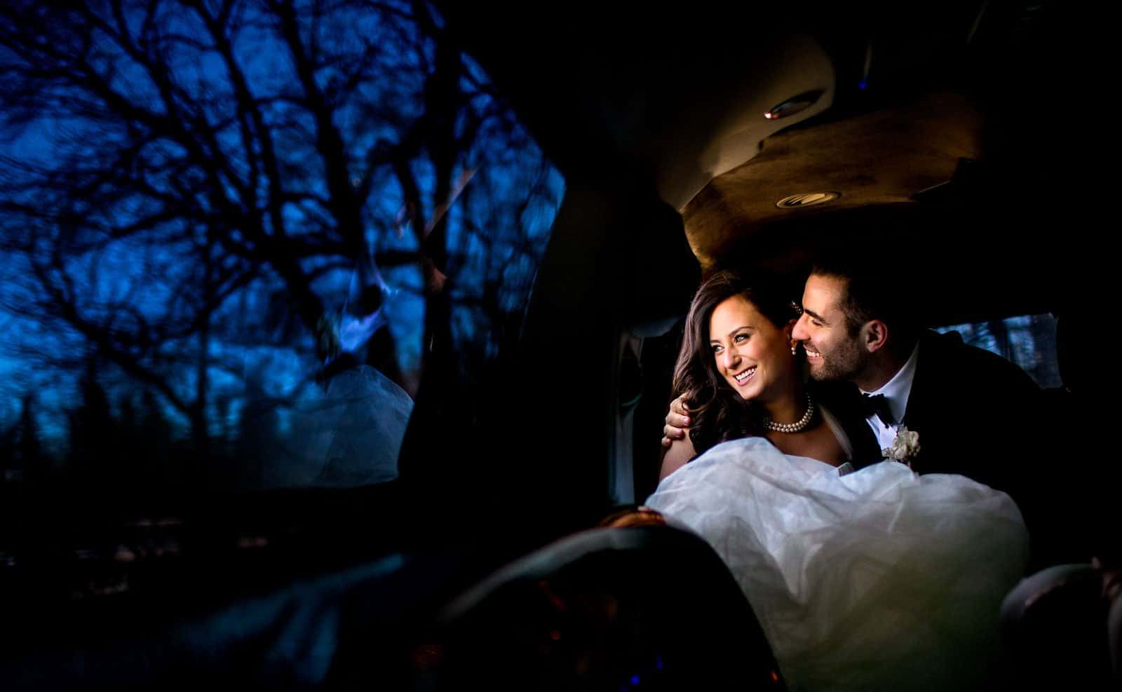 Orlando Limo Service - Wedding Limousine Couple