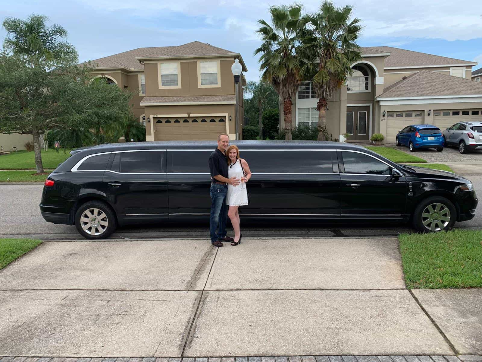 Lovely Couple Surprise in a MKT Limo