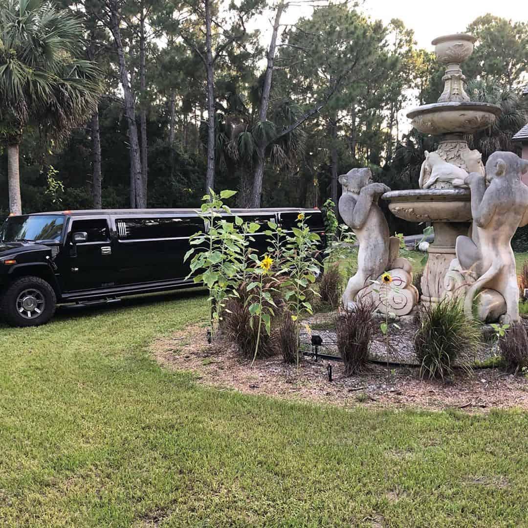 Black Hummer Limo Rental in Orlando
